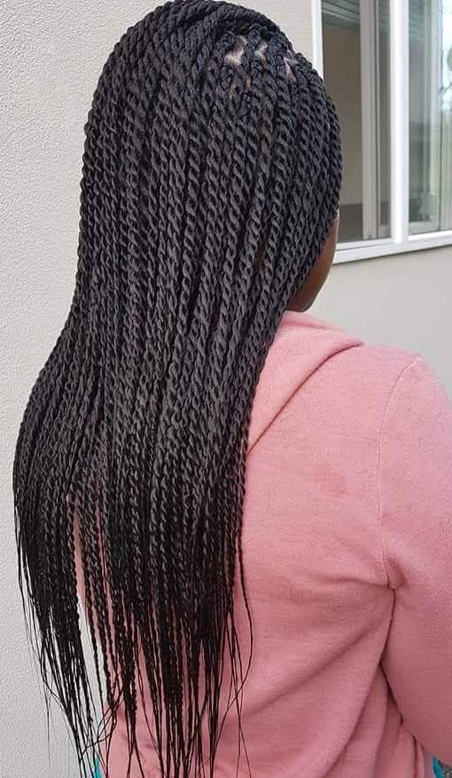Senegalese Braids #1